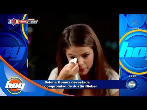 Selena Gómez, ¿devastada por el compromiso de Justin Bieber? | Fake News | Hoy
