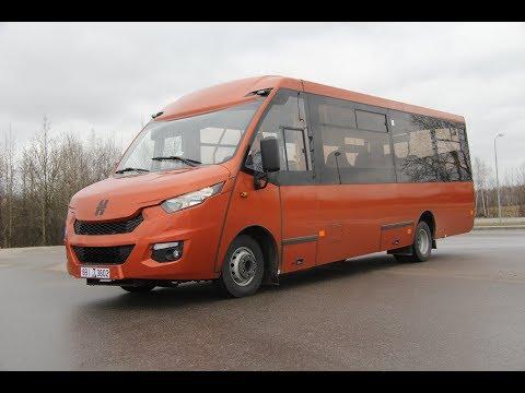 Автобус Ивеко НЕМАН 4202 Городской , Полный обзор