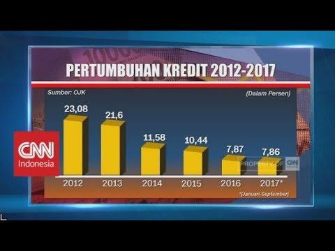 BI Turunkan Target Kredit Perbankan 2017