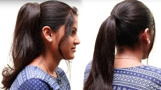 Quick Ponytail Hairstyles for short hair | Easy hairstyles for long hair | Hairstyles Tutorials