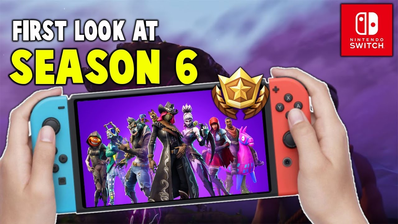 First Look At Fortnite Season 6 On Nintendo Switch ...
