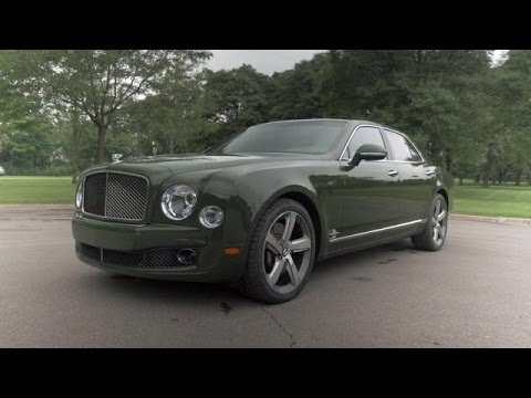 2015 Bentley Mulsanne Speed Video Review - YouTube
