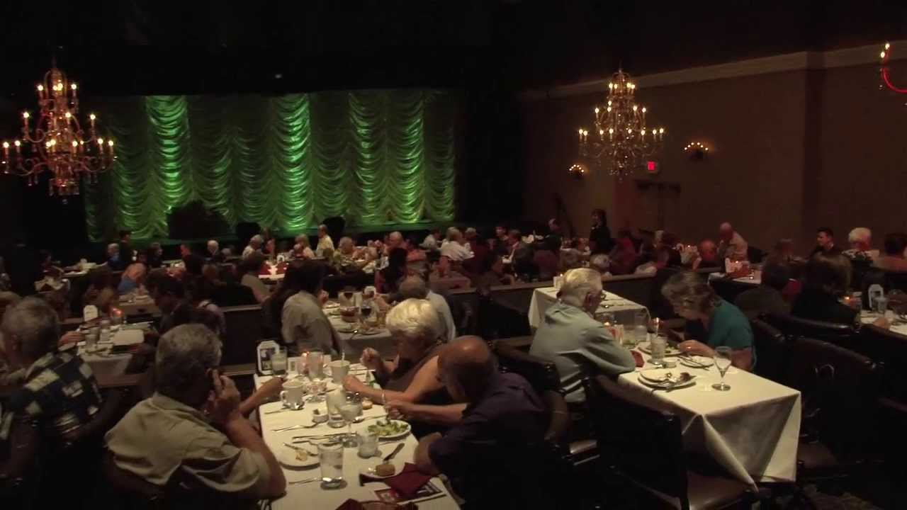 Theatergoers at Encore Dinner Theatre in Tustin  YouTube