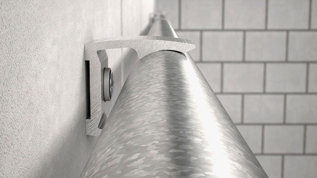 Metallrohr-Systeme - Montage - YouTube