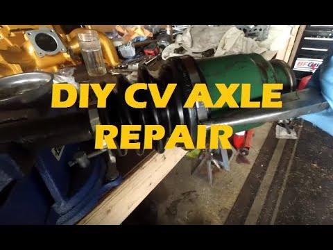 DIY Subaru CV Axle Repair – Re-booting OEM Axle