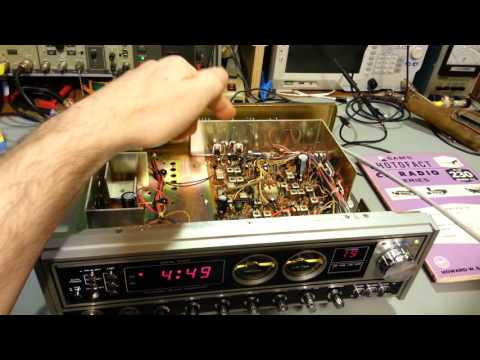 Uniden Madison AM/SSB CB radio and tips on cleaning.