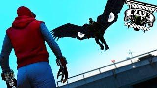 Spiderman VS Vulture! Homemade Spiderman (GTA 5 Spiderman Mod)