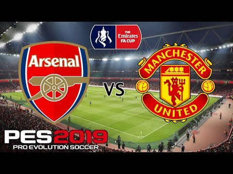 Arsenal vs Manchester United - Incredible 6 Goal Thriller - FA Cup 4th Round - PES 2019
