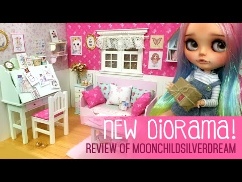 New Diorama *0* { doll house unboxing }
