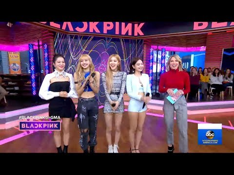 BLACKPINK FULL APPEARANCE ON GOOD MORNING AMERICA