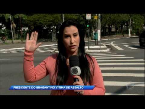 Presidente do Bragantino é baleado em tentativa de assalto