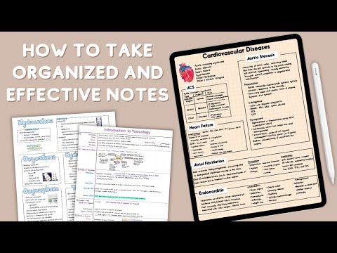 How to Take Organized and Effective Notes + Study Tips | Studymas 2020