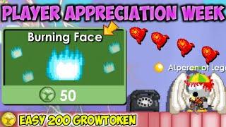 How To Prepare Player Appreciation Week 2020!! (EASY 200 GROWTOKEN) | GrowTopia