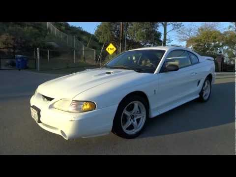 Ford Mustang SVT Cobra Coupe 1998 Shelby 2 Owner 4.6L V8 5-Speed Manual GT Fox Body