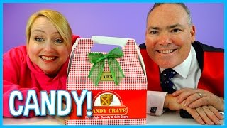 1970's Candy Unboxing with Mommy and Daddy a Candy Tasting from the Past