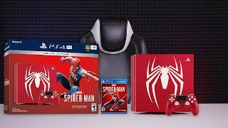 PLAYSTATION 4 PRO - Limited Edition Marvel's Spider-Man (РАСПАКОВКА - UNBOXING)