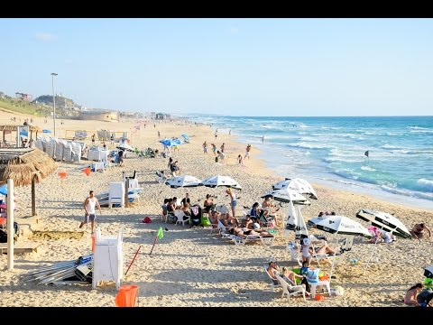 Holidays in Israel at Bat Yam Beach