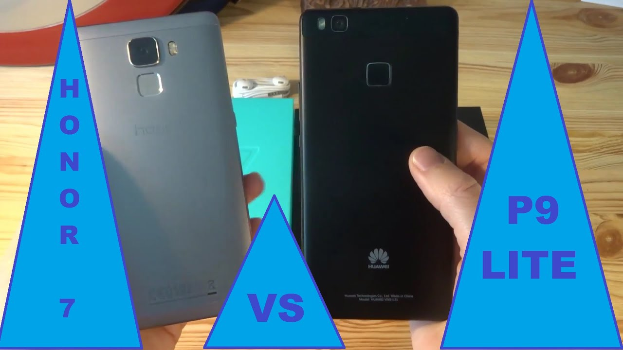 Honor 5x vs p9 lite