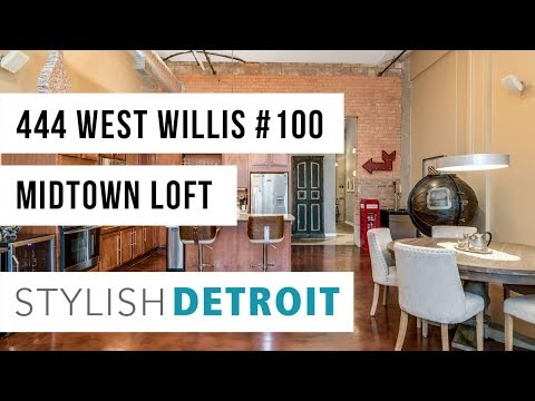 444 W Willis #100  |  Willys Overland Lofts  |  Midtown Detroit