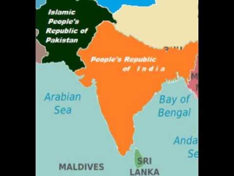 Hindustan map