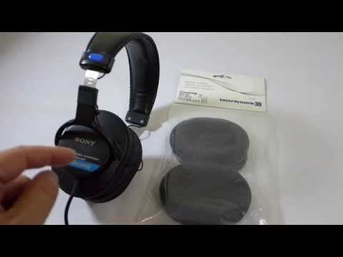 How to: Sony MDR-v6 and MDR-7506 with Beyerdynamic Ear Pads