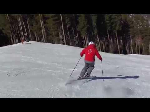 Uphill ski garlands