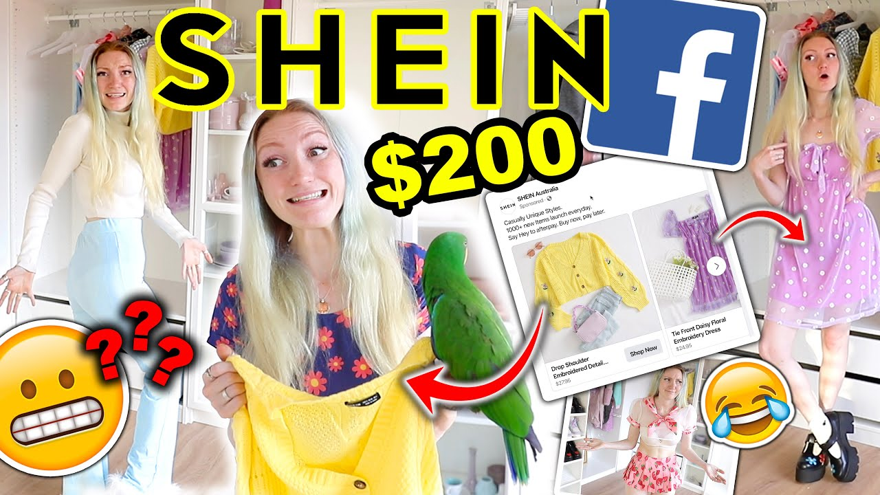 $200 SHEIN HAUL | I BOUGHT EVERY ITEM FROM A SHEIN FACEBOOK AD | SHEIN TRY ON HAUL 2020