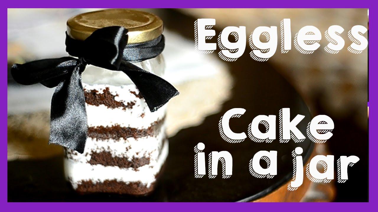 Cake In A Jar Recipe Microwave: Easy Eggless Microwave Cake In A Jar {Delhi Fashion
