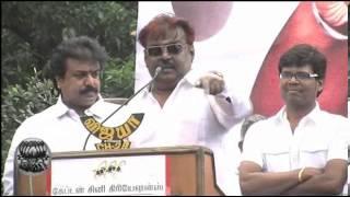 Is Drinking Wrong Questions DMDK Leader Vijayakanth - Dinamalar Tamil Video