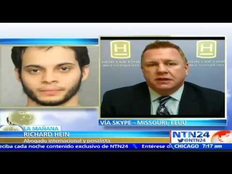 Abogado Richard Hein Habló Sobre Caso #EstebanSantiago #FortLauderdale en NTN24