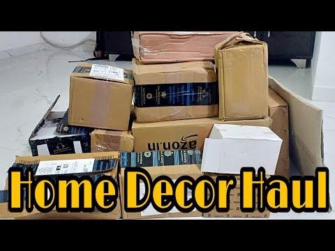 Amazon Huge Home Decor Haul // Home Decor & Organizer Haul // Indian Mom Kanchan