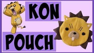 DIY Kon Zipper Pouch | Anime Inspired Crafts