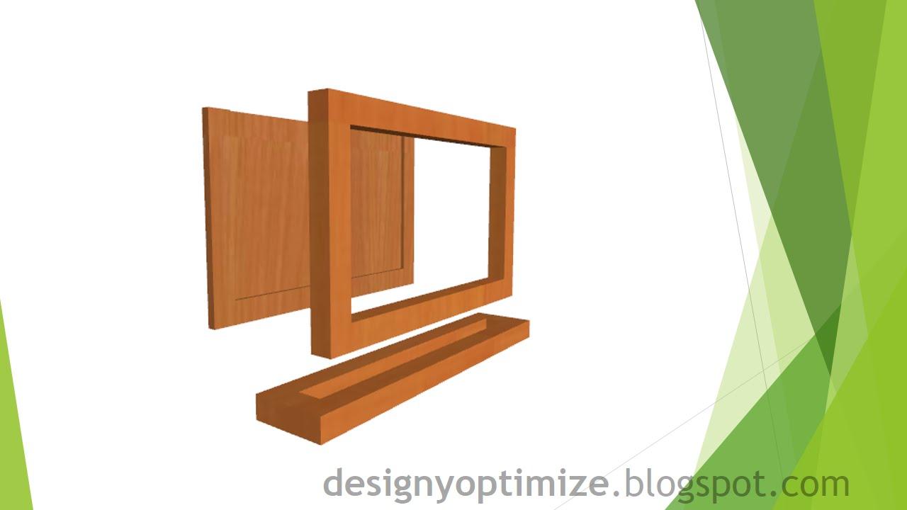 Creando un portarretrato con madera mdf youtube - Como hacer un lapicero de madera ...