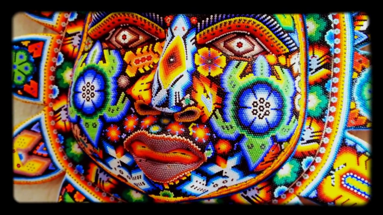 Some of Mexico's BEST Huichol Art 2017 - YouTube