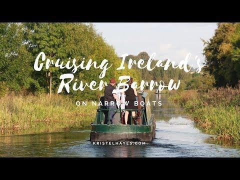 Cruising Ireland's River Barrow on Narrowboats