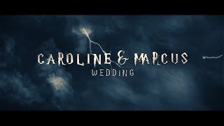 Marcus and Caroline's Harry Potter Wedding Highlights- Dalhousie castle Scotland