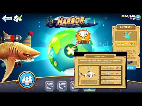 *New* HARBOR (NEW) L Shark Echo (Ichthyosaur) Live Event - Hungry Shark World