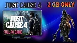 Just Cause 4 game download for pc || gameplay review , highly compressed || full pc game