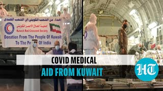 Watch: India receives 282 oxygen cylinders, 60 oxygen concentrators from Kuwait