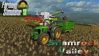 🔴 Farming Simulator 17 | Shamrock Valley | harvesting time and we may need some hay