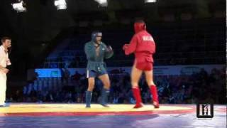 Championship of Russia on COMBAT SAMBO 2012 HIGHLIGHTS