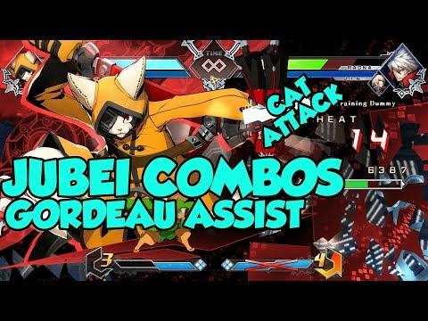 BBTAG - Jubei - Combos with inputs