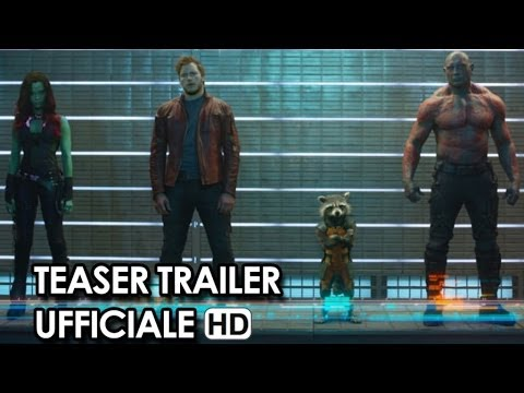 Guardians Of The Galaxy Teaser Trailer Ufficiale Italiano (2014) - Vin Diesel Movie HD
