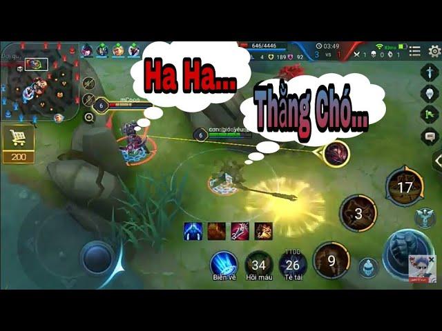 Pha Nakroth Đùa Ngộ Không Max Hài + Nhây | Liên Quân Mobile