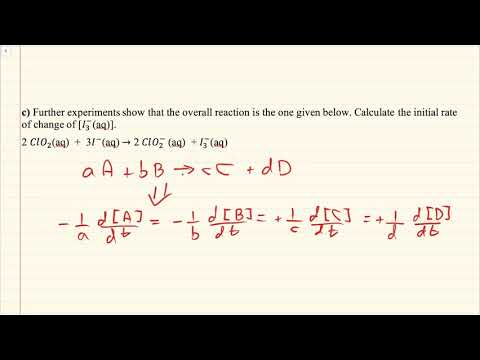 General Chemistry Quiz 1 Q3c General Rate Law