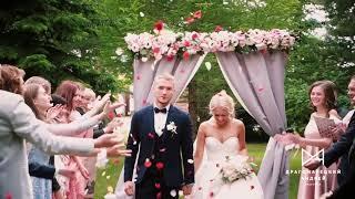Выездная регистрация. Свадьба летом. Видео на свадьбу в Питере. Свадебный клип в Питере.