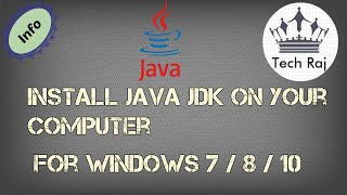 Gambar cover How to Download and Install Java JDK on Windows 7/8/10