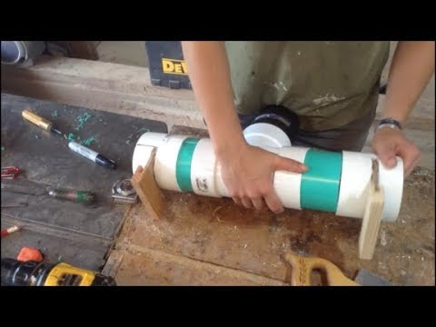 Woodworking : Small Shop Dust Collection DIY Fittings // How-To