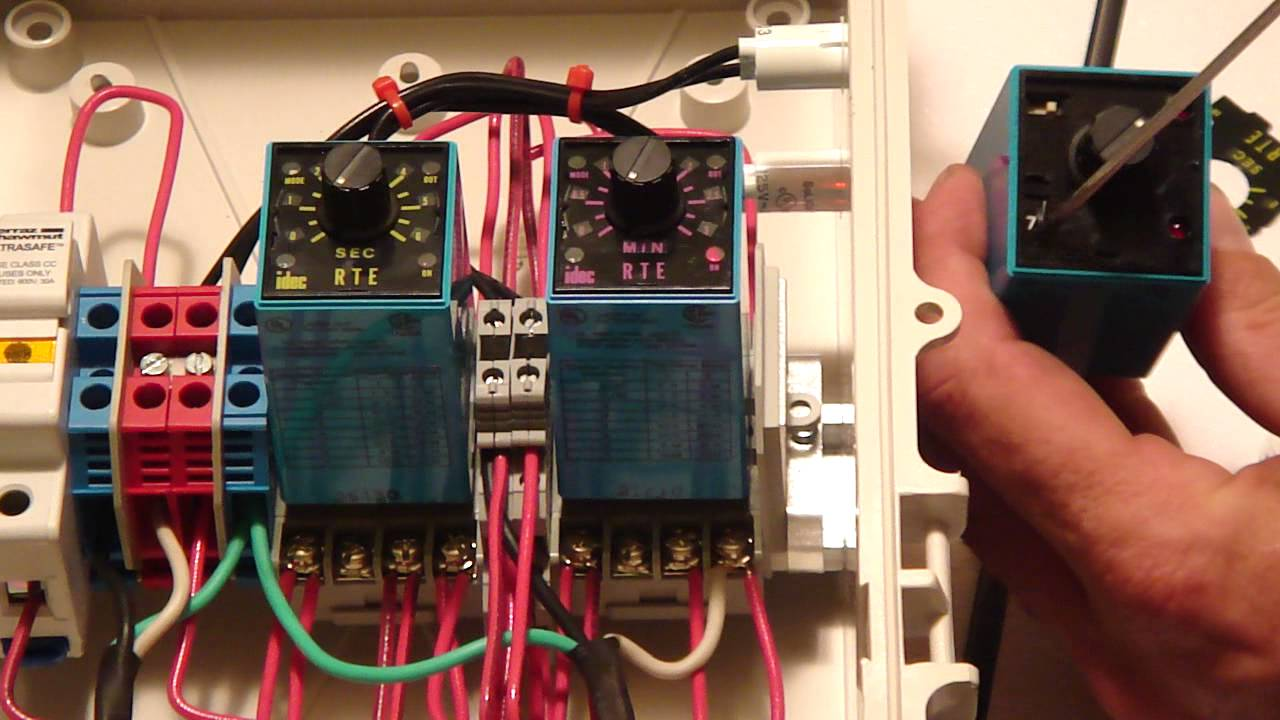 How To Set Your Multiponics Repeat Cycle Timer Youtube Cyclic Relay Wiring Diagram