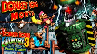 DK Month: Donkey Kong Country 3